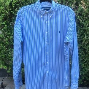 Ralph Lauren Long Sleeve Button Down Shirt Size L